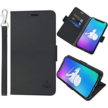 DefenderShield Compatible iPhone 11 Pro 5G & EMF Radiation Protection Case - Detachable Magnetic Anti Radiation Shield & RFID Blocker Wallet Case w/Wrist Strap