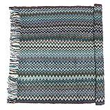 PRETYZOOM Knitted Throw Blanket Bohemia Woven Sofa Blanket Soft...