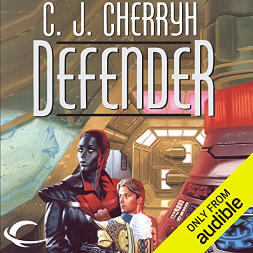 Defender audiobook cover art