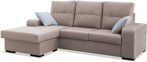 Amazon.es: Sofa Cheslong