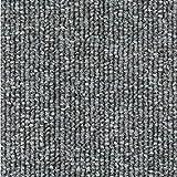 ZHKXBG Azulejos de Alfombra 50 × 50 cm, Sótano Inicio/Oficina, Self Stick/Azote de Respaldo sin Deslizamiento/de baldosas Lavables, 1 Metro Cuadrado (4 Piezas),Gris