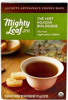 Mighty Leaf, Tea Green Hojicha Organic, 15 Count