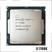 Intel Core I7-7700K I7 7700K 4.2 GHz Quad-Core Eight-Thread CPU Processor 8M 91W LGA 1151