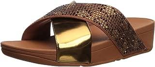 Women's Lulu Leopard-Crystal Sandal