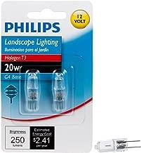 Philips 417204 Landscape Lighting 20-watt T3 12-volt Bi-pin Base Light Bulb