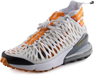 Nike Mens Air Max 270 ISPA White/Ghost Aqua Synthetic