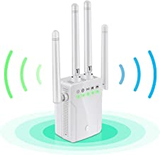 $49 » WiFi Range Extender - 1200Mbps WiFi Repeater Wireless Super Signal Booster, Coverage Up to 2500 sq.ft and 20 Devices, 2.4 ...