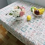 Home Decor TableclothKorean Kettle Fresh Linen Tablecloth Fabric Cover Towel