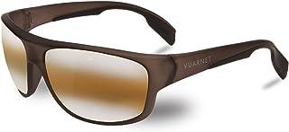 6c374ac121 Vuarnet VL140200202136 Large Racing Sunglasses Dark Grey Matte Transparent  Frame BrownLynx Glass Lens