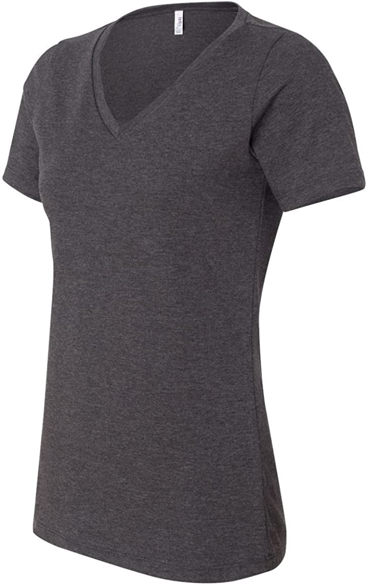 Bella Canvas Missy's Relaxed Jersey V-Neck T-Shirt