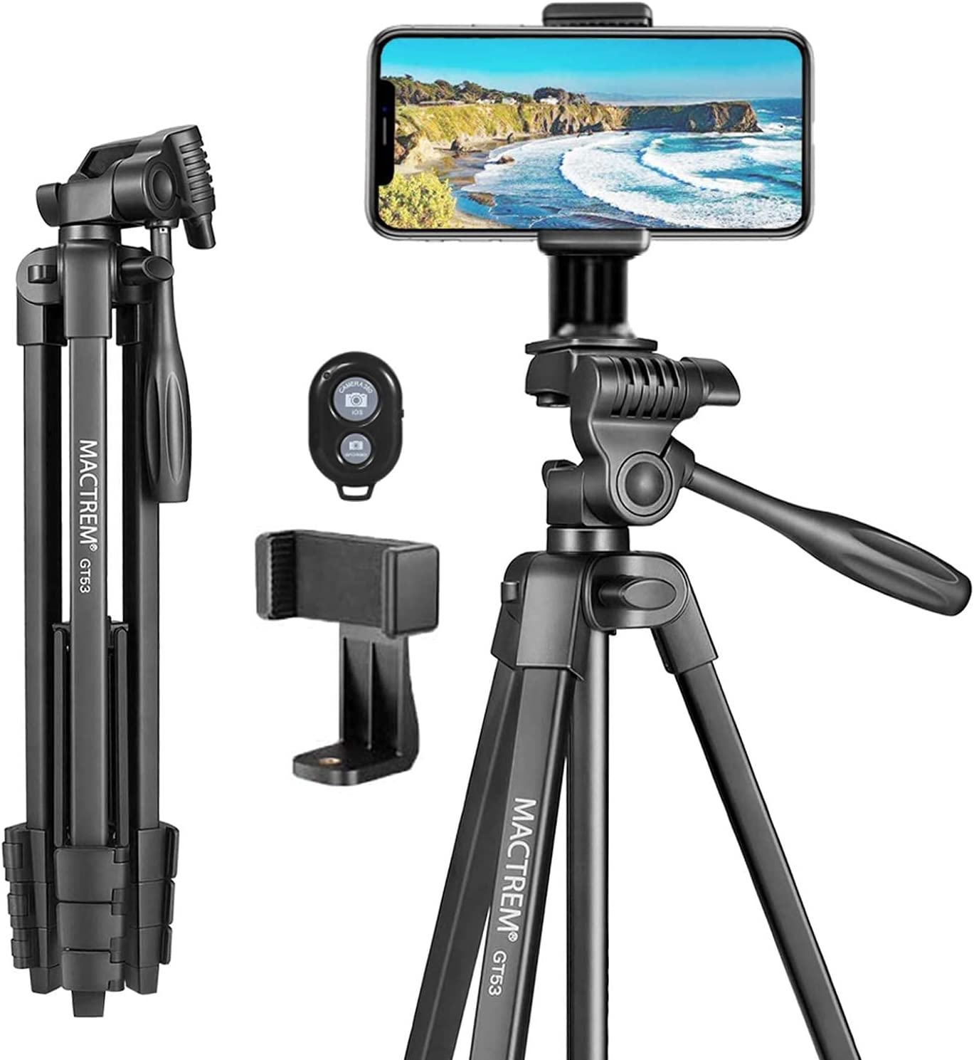 MACTREM Phone Surprise Cash special price price Tripod for iPhone 16.3 53.6 Lightweight Inches - T