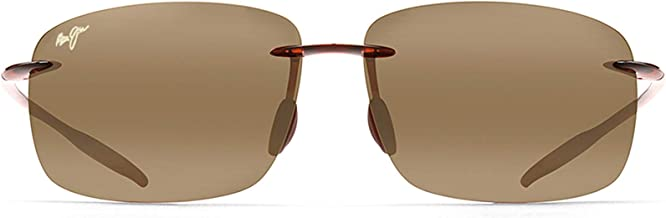 Maui Jim Sunglasses | Breakwall 422 | Rimless Frame, Polarized Lenses, with Patented PolarizedPlus2 Lens Technology