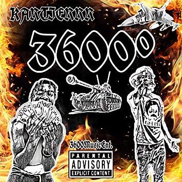 3600°