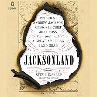 Jacksonland audiobook cover art