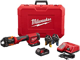 Milwaukee 2674-22P M18 Short Throw Press Tool Kit w/ Viega PureFlow Jaws