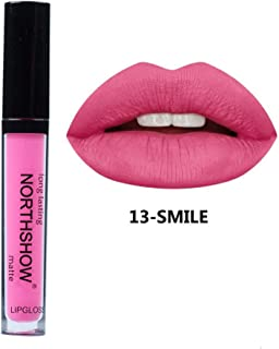 Long Lasting Lip Gloss Hosamtel Waterproof Moisturizer Sexy Velvet Matte Makeup Lipstick (13#)
