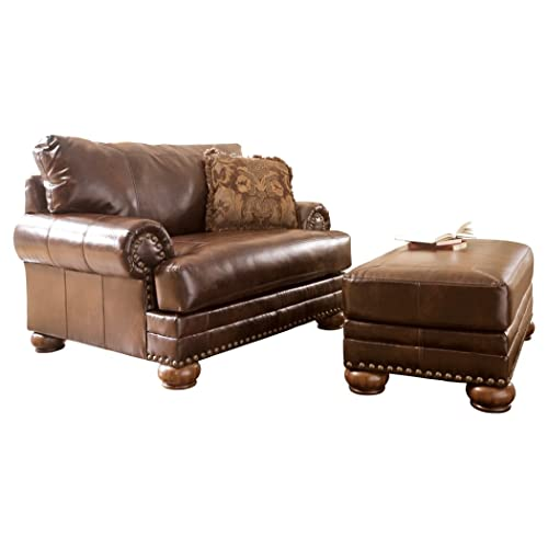 Awe Inspiring Oversized Chair And Ottoman Amazon Com Frankydiablos Diy Chair Ideas Frankydiabloscom