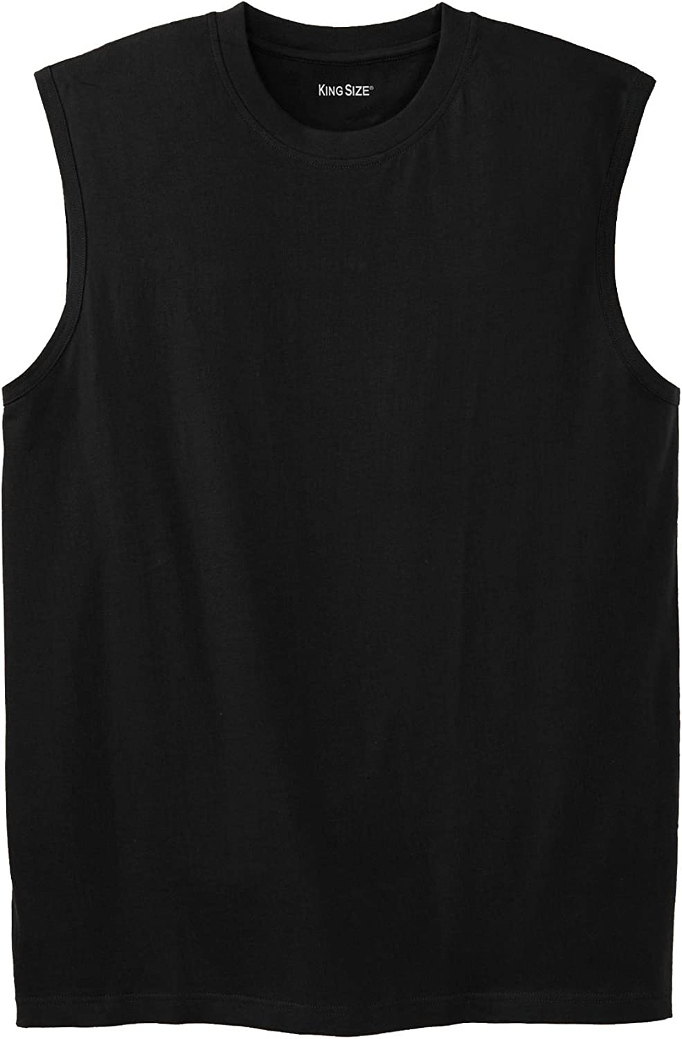 KingSize Men's Big Tall Free shipping New T-Shirt Muscle Limited price Lightweight Shrink-Less