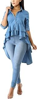 Best high low skirt denim shirt Reviews