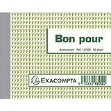 Manifolds 'bon pour' - 50 feuillets autocopiants - sous film par lot de 5
