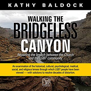 Walking the Bridgeless Canyon audiobook cover art