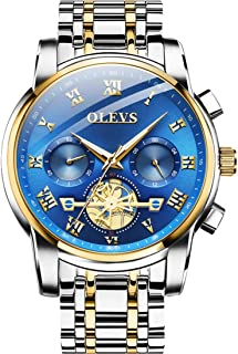 OLEVS Chronograph Analogue Men's Luxury Watch (Blue Dial)