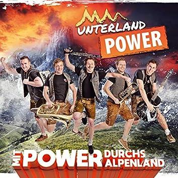 Mit Power durchs Alpenland