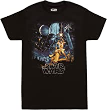 Fifth Sun Star Wars A New Hope Vintage Poster Adult T-Shirt