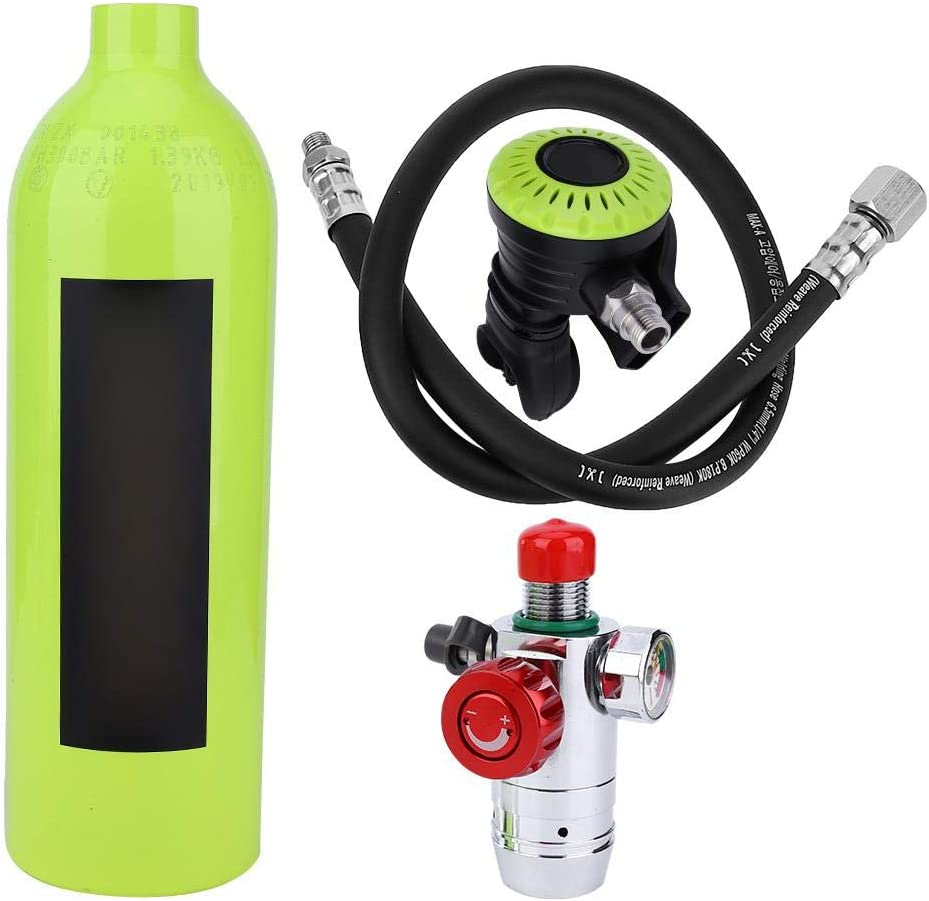 New popularity Zyyini S400 Tank 1L Diving Minutes sold out Equipment Snorkeling 15-20