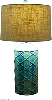 WFM American Lamps Bedroom Bedside Lamps Living Room Ceramics European Modern Creativity Retro Table Lamp