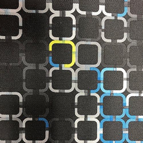 Erstklassiger Polyester Oxford 250D 1lfm - Wasserabweisend, Winddicht, Outdoor Stoff, Gartenmöbel Stoff - Muster 01