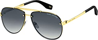 نظارات شمسية بايلوت من مارك جاكوبس Marc317/s للرجال + مجموعة نظارات مجانية مجانية