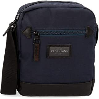 Pepe Jeans, Bandolera Mediana, 22 cm, 2.24 litros, Azul