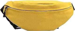 Colorful Waist Bag Women Joker Crossbody Fashion Chest Pocket Pocket Shoulder Bag Sport Runner Bags For Women,Ye