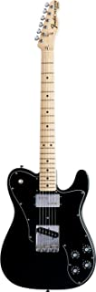 Fender Classic Series 72 Telecaster Custom Electric Guitar, Maple Fingerboard - Black