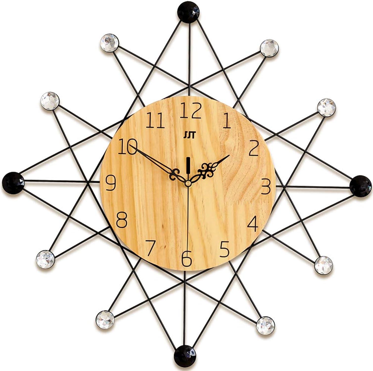 estar en gran demanda LFA El Accesorio más cálido Reloj Europeo Europeo Europeo Reloj de Parojo Mute Personalidad Creativa Reloj de Parojo Moderno y Moderno Salón Hogar Reloj de Parojo Decoración,01-S  tienda de ventas outlet