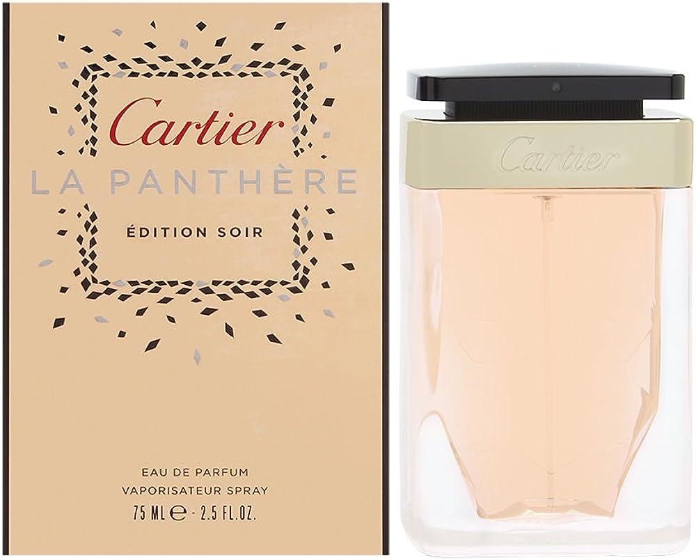 Cartier la panthere edition soir eau de parfum spray - 75 ml R-OT-303-75