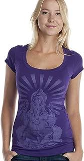 Super Buddha Women's Ganesha Scoopneck Graphic Tee