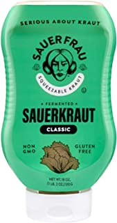 pasteurized sauerkraut nutrition