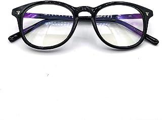 Peter Jones Round Anti Glare Reading Glasses for Men Women, Computer Readers UV 400 Customise Prescription (AG018)