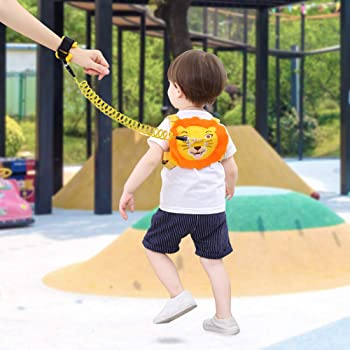 Lehoo Castle Toddler Leash for Walking, Baby Leashes for Toddlers with Induction Lock, Kid Harness with Leash 4-in-1,...