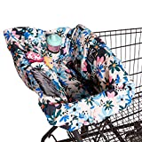 J.L. Childress Disney Baby by Shopping Cart & High Chair Cover for Baby to Toddler, Minnie Floral