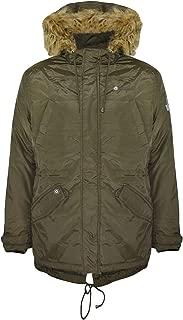 Lambretta Mens Lighweight Parka Jacket - Khaki
