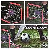 Unbekannt 2 x Dunlop Fußballtor 2 Fussballtore Torset Set Kinder Tor 78 x 56 x 45 cm