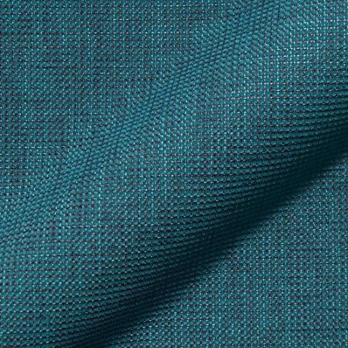 Stoff Polsterstoff Möbelstoff Bezugsstoff Meterware für Stühle, Eckbänke, etc. - Mondo Blau Uni - MUSTER