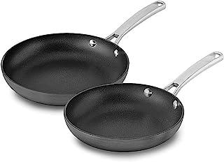 Calphalon 2 Piece Classic Nonstick Frying Pan Set, Grey