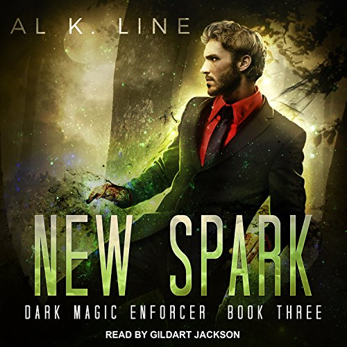 New Spark audiobook cover art