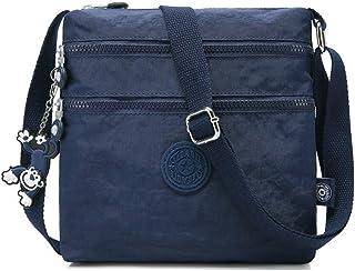 COAFIT Women's Crossbody Bag Nylon Shoulder Bag Lightweight Crossbody Bag