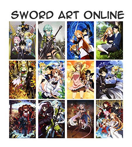 Anime Kalender 2020 (12 Pages 20x30cm) Sword Art Online Manga SAO PXLV8020