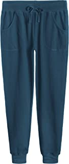 Women's Cotton Jersey Pocket Joggers